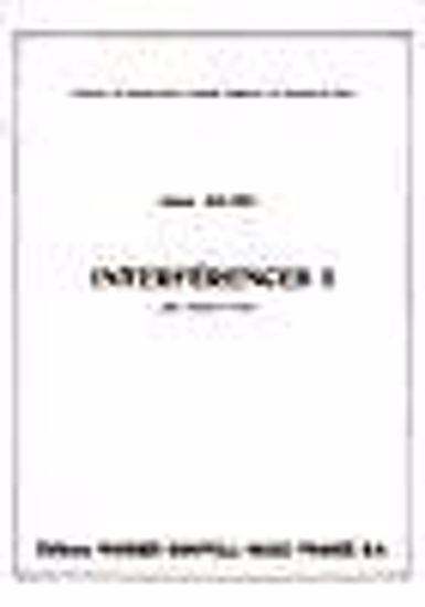 BOUTRY:INTERFERENCES I