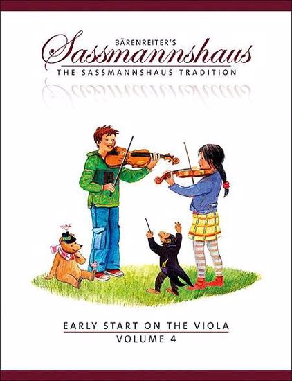 SASSMANNSHAUS:EARLY START ON THE VIOLA VOL.4