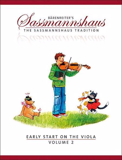 SASSMANNSHAUS:EARLY START ON THE VIOLA VOL.2