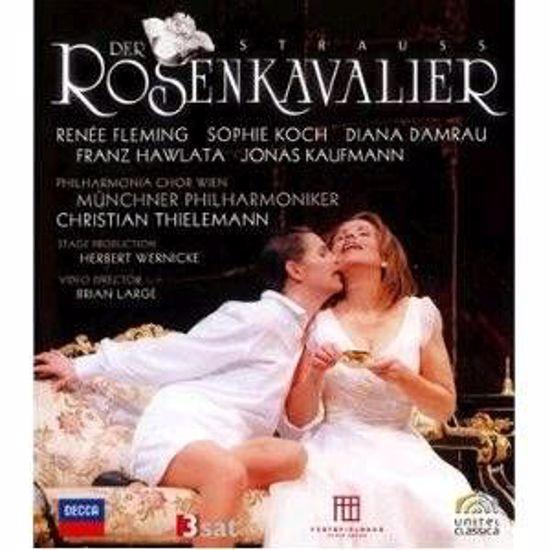 STRAUSS R.:ROSENKAVALIER BLUE RAY