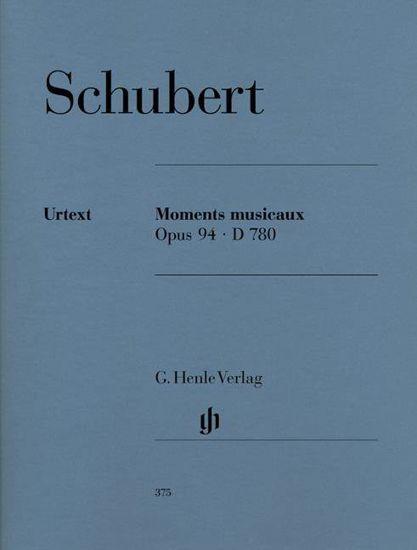 SCHUBERT:MOMENT MUSICAUX OP.94 D780