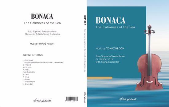 NEDOH TOMAŽ:BONACA  FOR SOLO SOPRAN SAX ALI KLARINET V Bb IN GODALNI ORK.