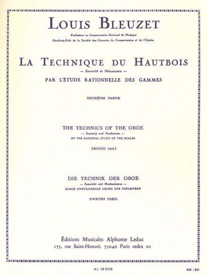 BLEUZET:LA TECHNIQUE DU HAUTBOIS 2