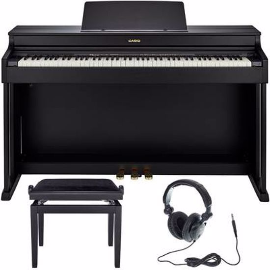 CASIO AP470BK SET DIGITALNI PIANINO S STOLOM IN SLUŠALKAMI