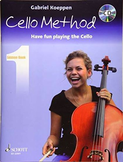 KOEPPEN:CELLO METHOD LESSON BOOK 1 +CD