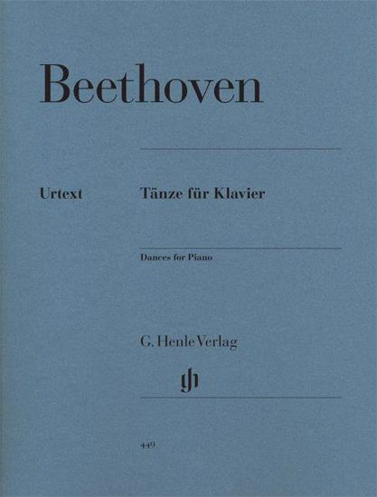 BEETHOVEN:DANCES FOR PIANO