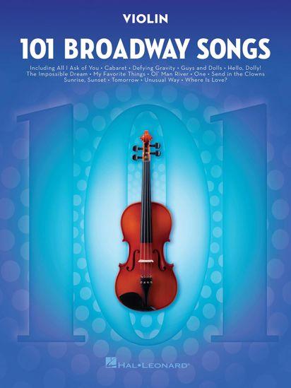 101 BROADWAY SONGS VIOLIN