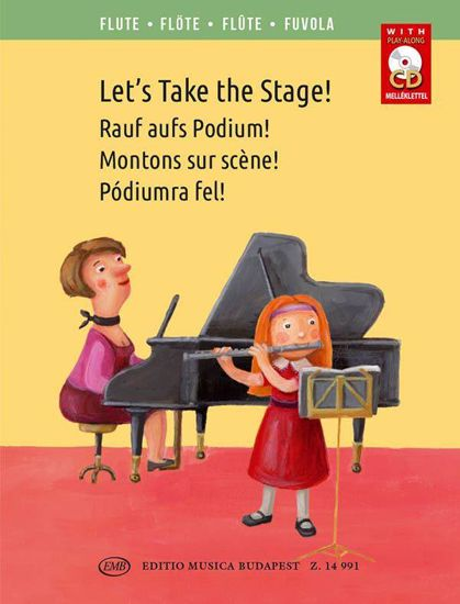 LET'S TAKE THE STAGE! +CD FLUTE & PIANO