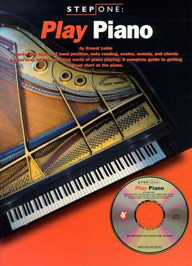 STEP ONE PLAY PIANO+CD